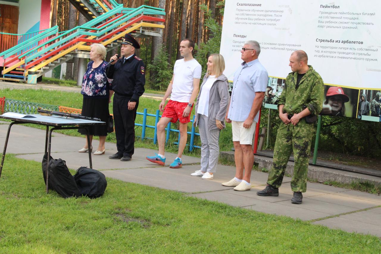 Полицейские нагрянули в Красную Горку