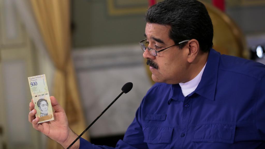 Президент Венесуэлы и новая валюта
