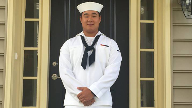Погибший американский моряк Джозеф Мин Наглак