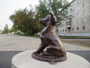 Собачка на бульваре Тимирязева