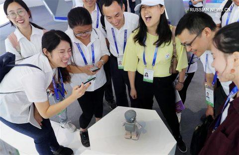 Три транснациональных гиганта создадут центры искусственного интеллекта. Фото Синьхуа