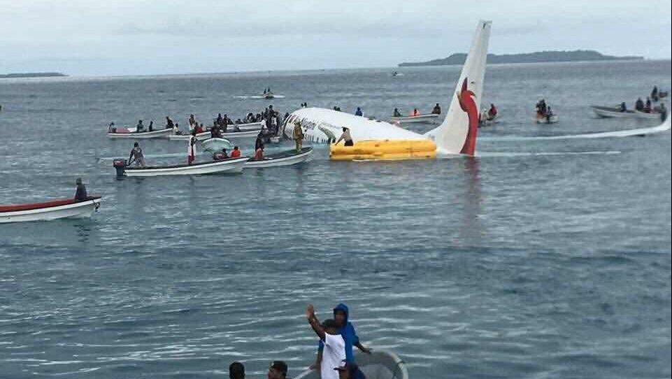 Авария Боинга в Микронезии