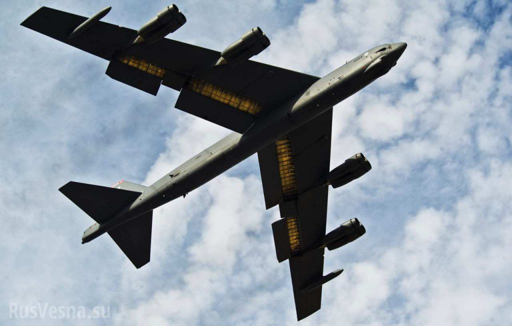 У границ РФ замечен ядерный тактический бомбардировщик ВВС США