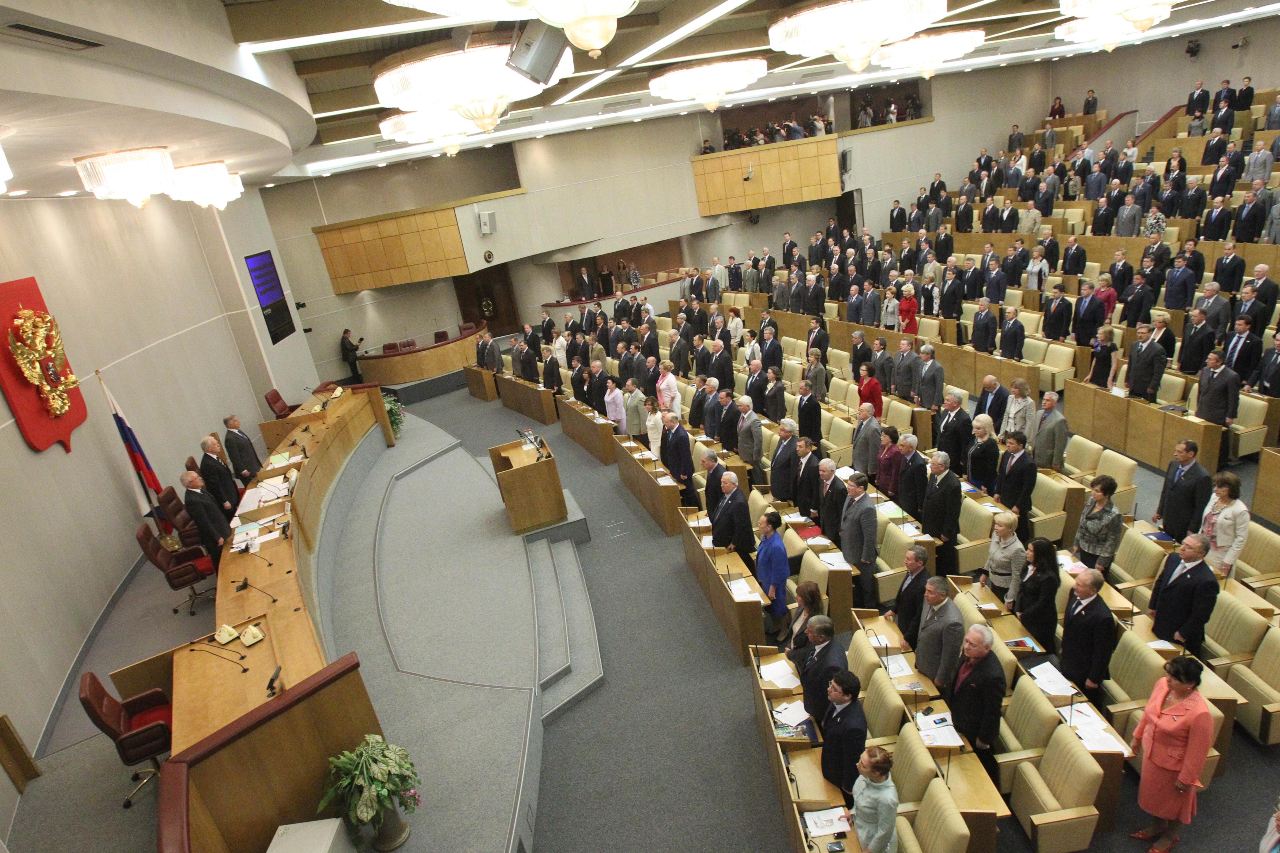 Дуэльный кодекс внесён на рассмотрение в ГД РФ