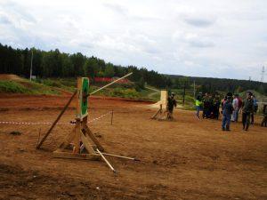 Соревнование в метании копья
