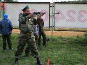 Соревнование по стрельбе