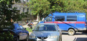 Дом, где была убита Юля
