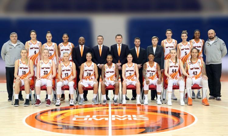 «Екатеринбургские лисички» открывают новый баскетбольный сезон