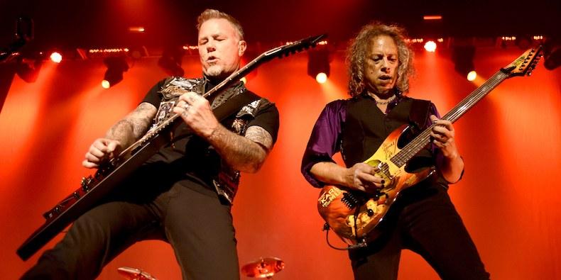 Старт продаж билетов на концерт Metallica в Москве. Фото Tim Mosenfelder.