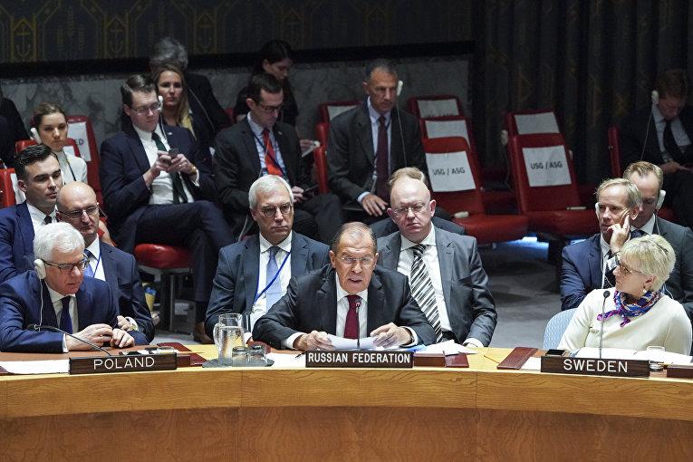 На заседании Генеральной ассамблеи ООН