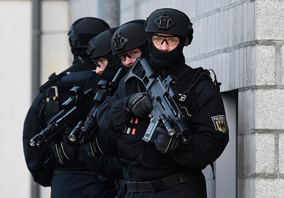Спецназ Федеральной полиции Германии