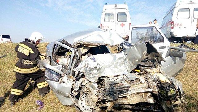 Авария в Крыму