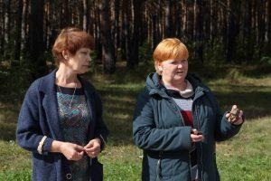 Научный сотрудник Краеведческого музе Любовь Зенкова и сотрудник музея имени Шевалёва Марина Рублеёва