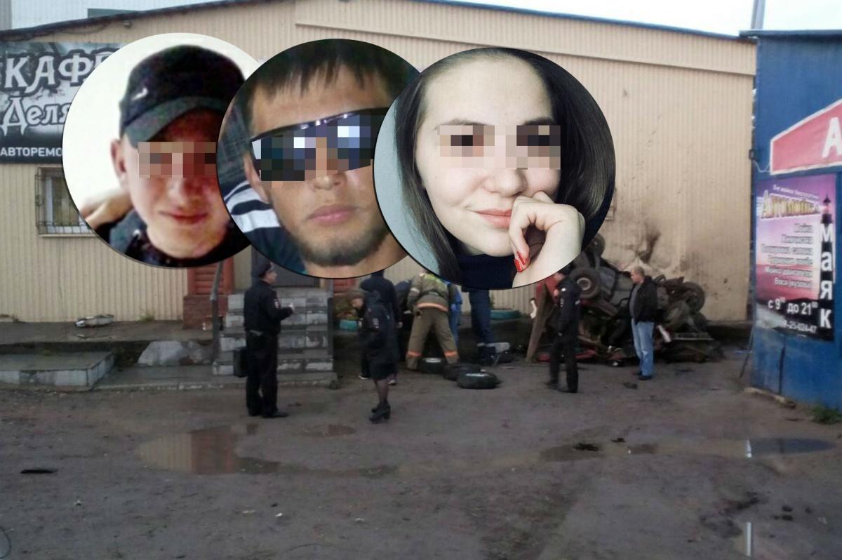 В Пермском крае автомобиль с семью подростками протаранил кафе. Фото 59.ru