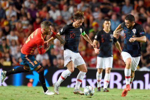 Вице-чемпион Мира был крупно разгромлен в первом же матче Лиге наций УЕФА. Фото сайта УЕФА.