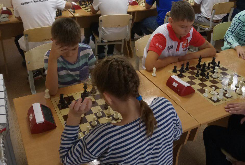 Шахматный турнир к Дню знаний