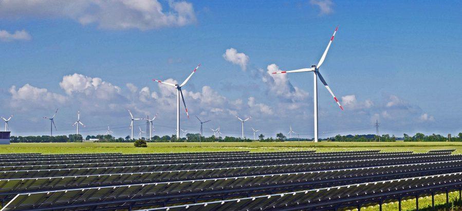 Вместо пустыни электростанция