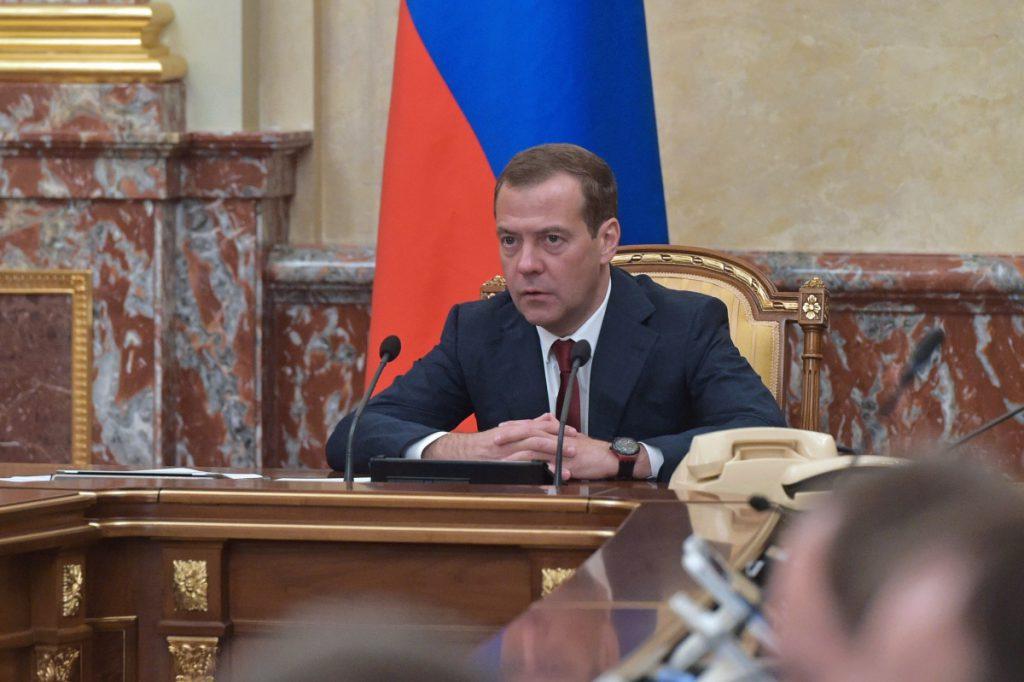 Заседание правительства Дмитрий Медведев