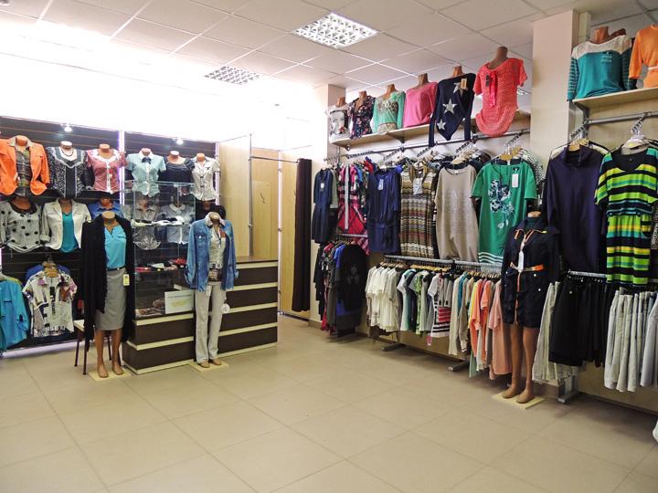Женское ограбление в магазине одежды