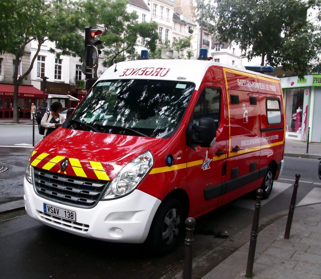 Скорая помощь в Париже