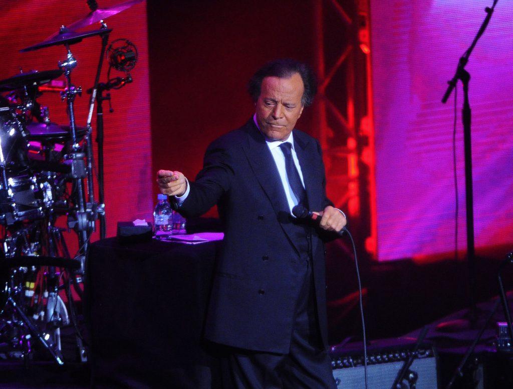 Хулио Иглесиас даст концерт в Москве