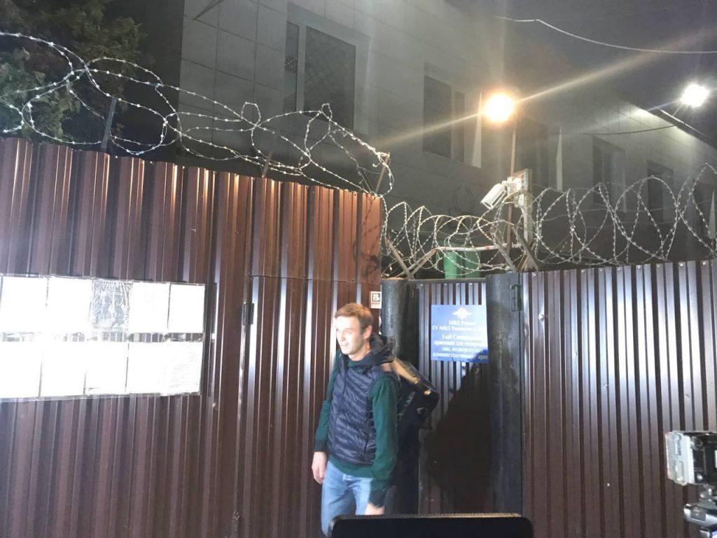 Навальный освободился