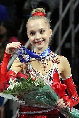 Елена Радионова на Гран-при «Скейт Америка»