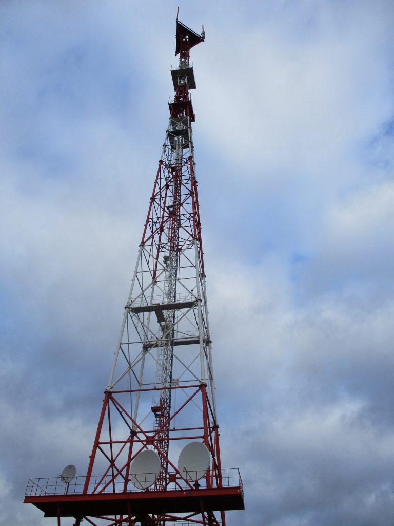 Телевизионная вышка трансляционного центра