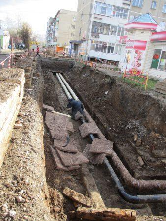 Капитальный ремонт теплотрассы по Лермонтова