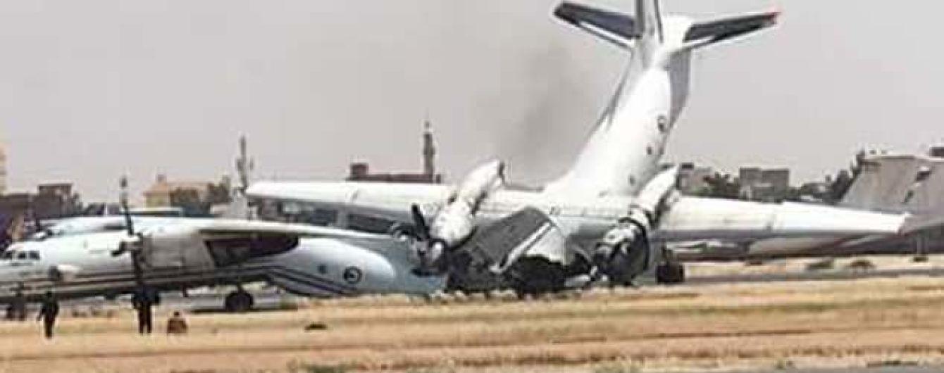 Столкновение самолетов в аэропорту Хартум