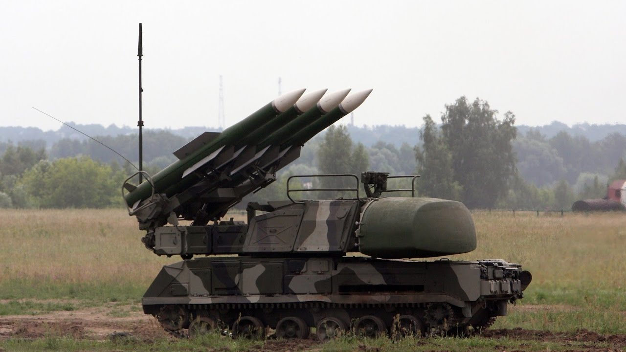 Украинский ЗРК Бук М1