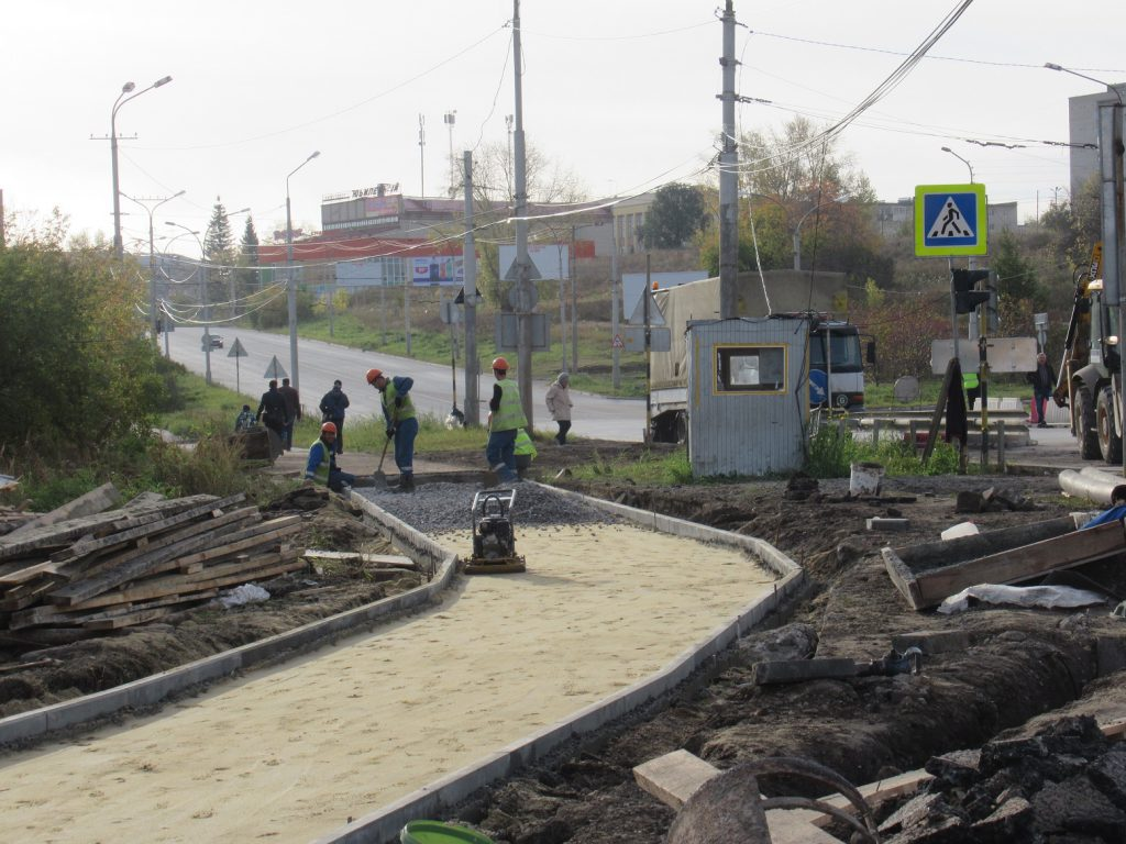 Ремонт Байновского моста