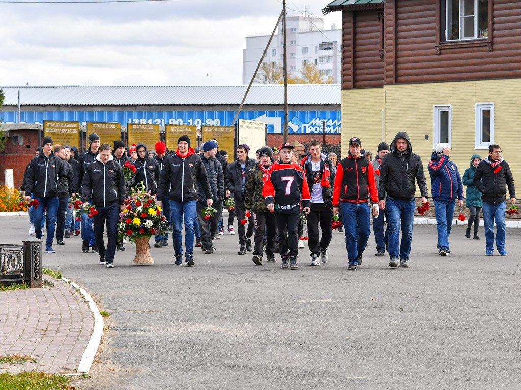 «Авангард» почтил память Алексея Черепанова. Фото: ХК «Авангард».