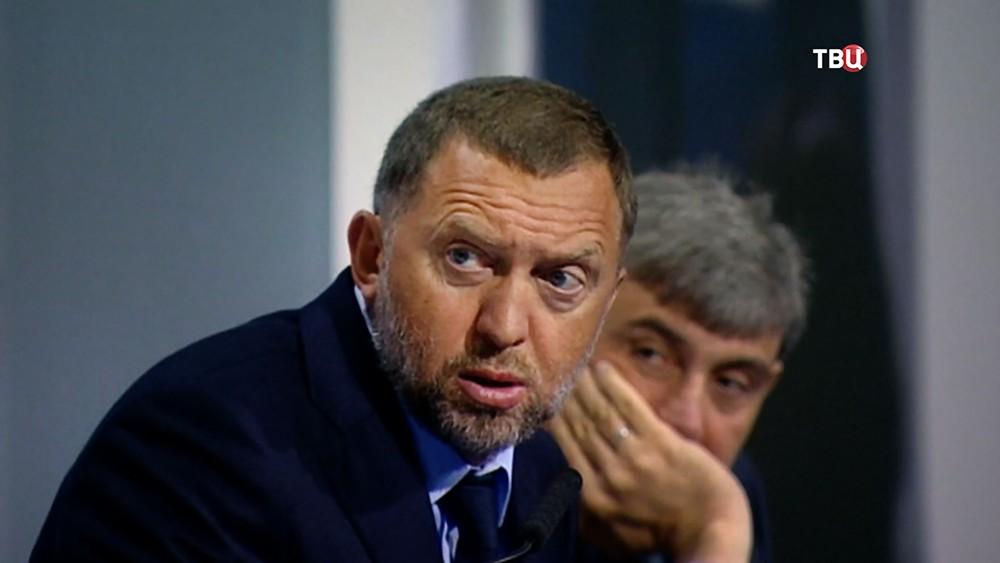 За отказ стучать, США заморозило активы Олега Дерипаски. Фото ТВЦ.