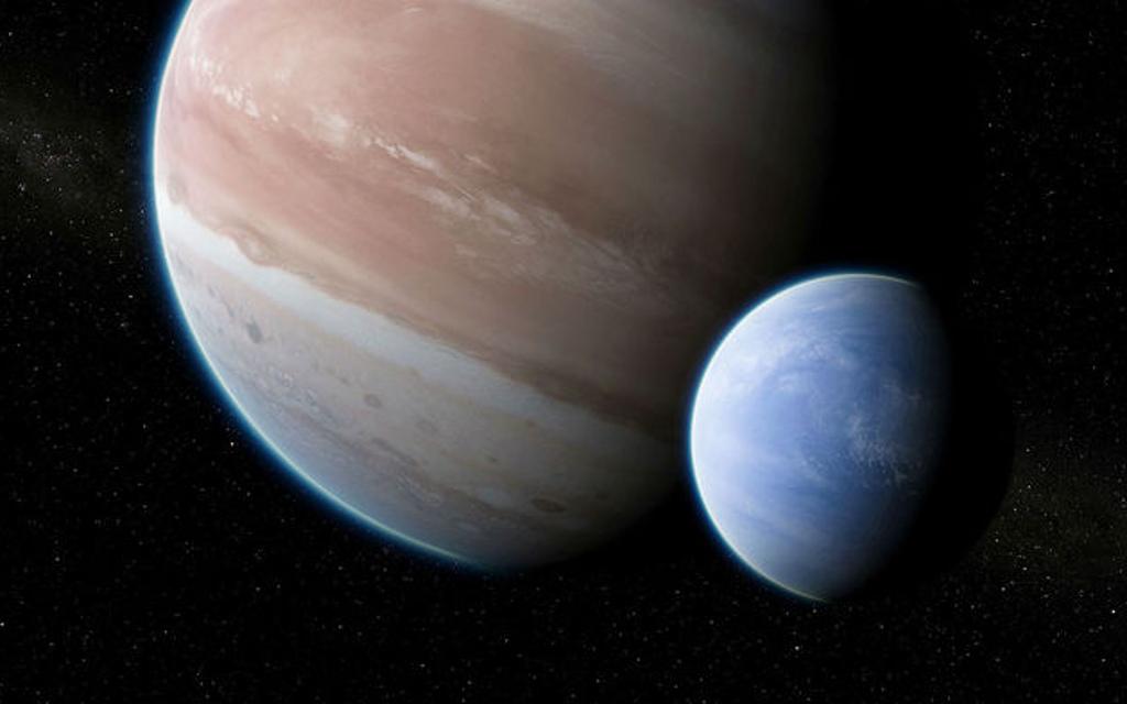 Обнаружен первый спутник экзопланеты (видео)