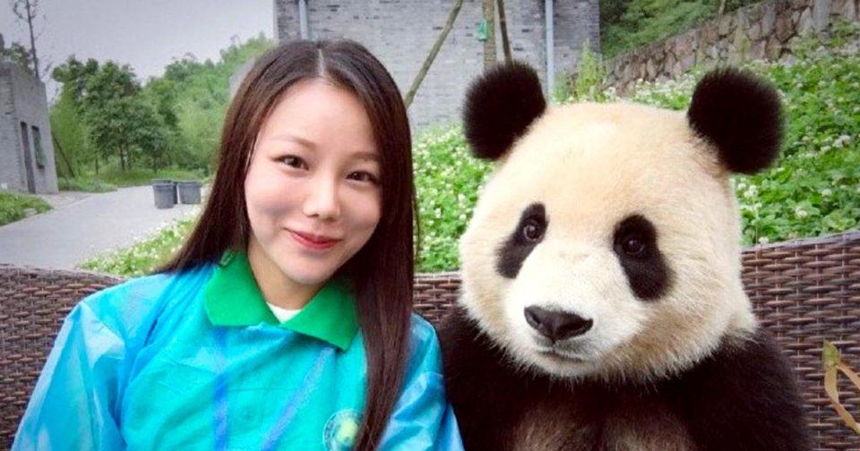 фото с пандой
