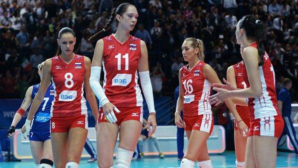 Италия - Россия: первое поражение россиянок на Чемпионате Мира по волейболу