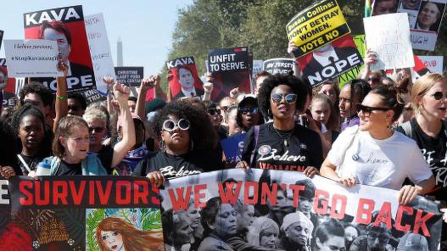 В Вашингтоне снова протестуют