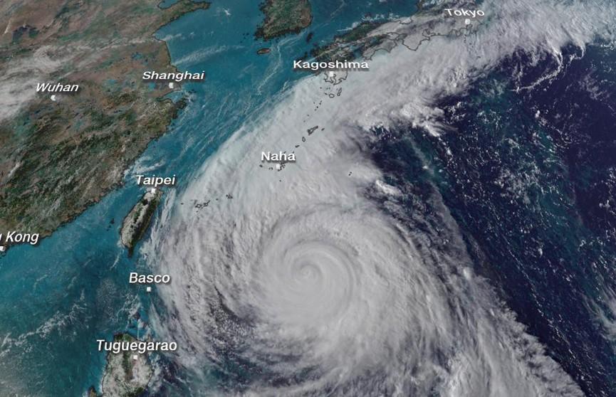 Из-за тайфуна «Конг-рей» в Японии пострадали 8 человек