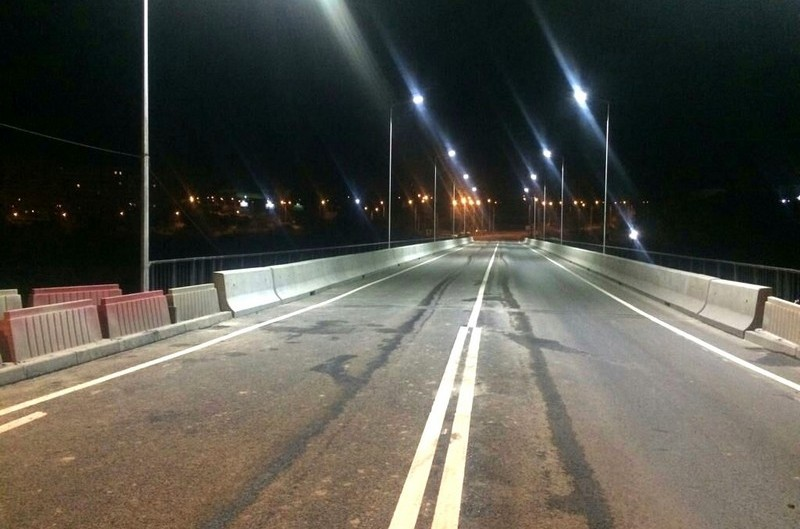 Новый мост через Исеть