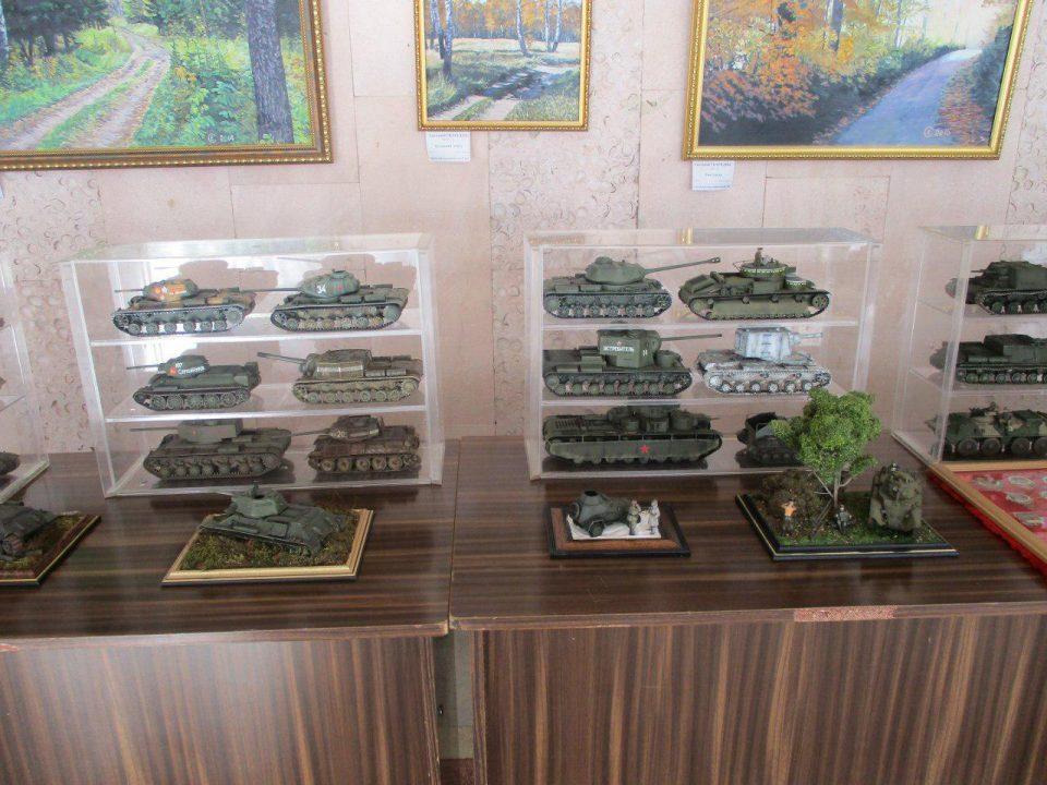 Миниатюры танков