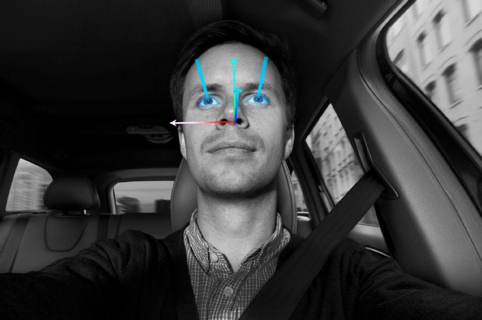 Система распознавания лиц сможет следить за состоянием водителя