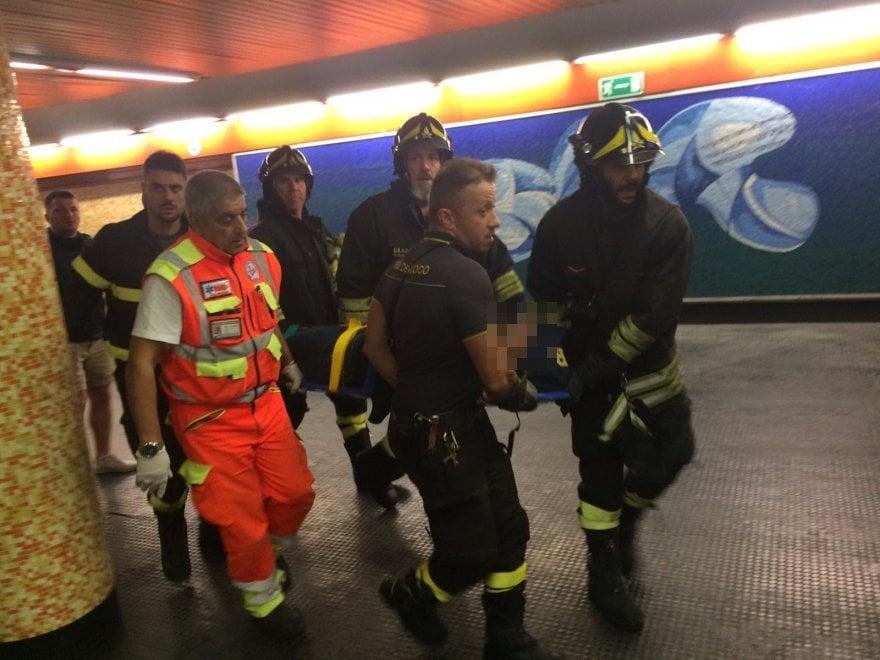Из-за обрушения эскалатора в метро в Риме пострадало 30 фанатов «ЦСКА»