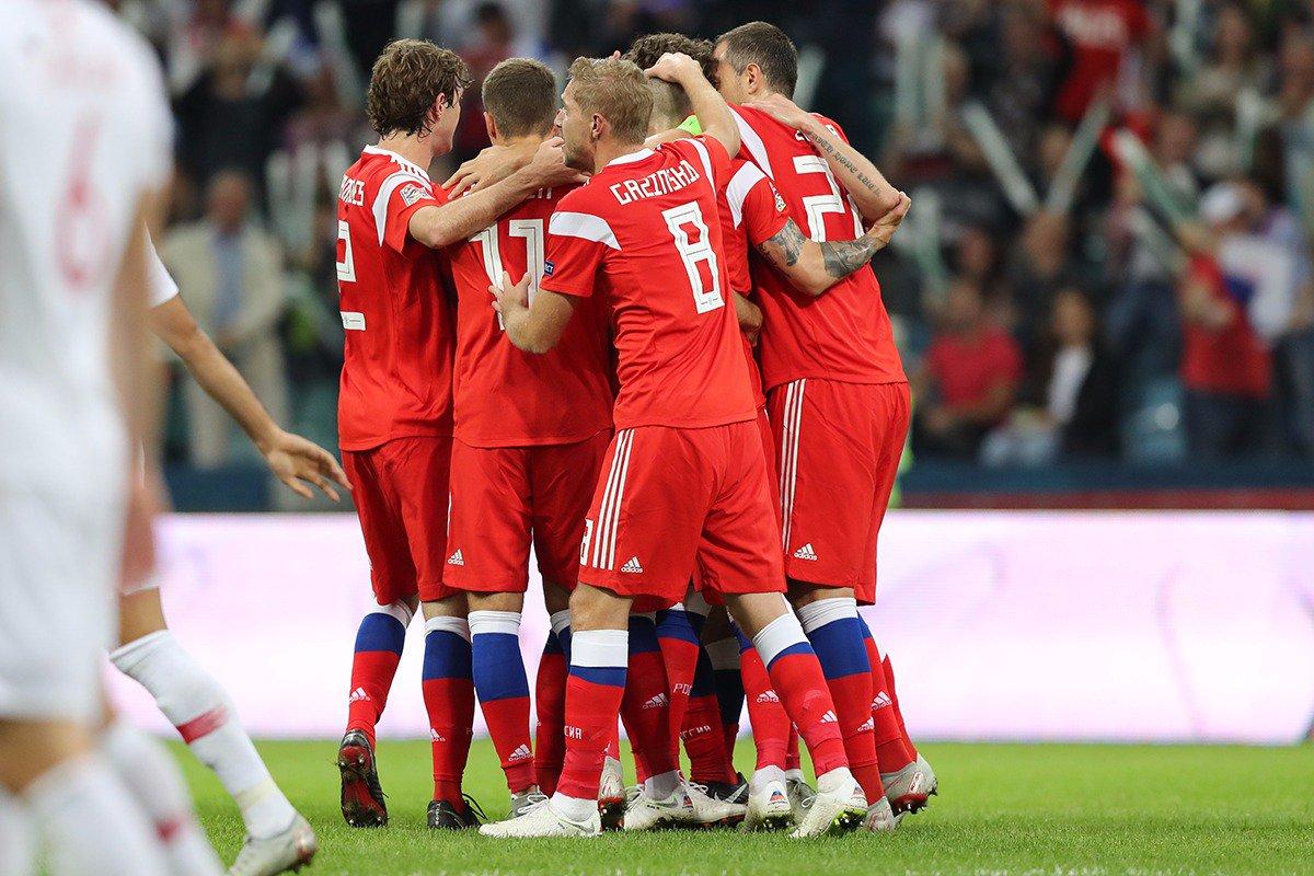 Россия - Турция: очередная победа на турнире Лиги наций UEFA