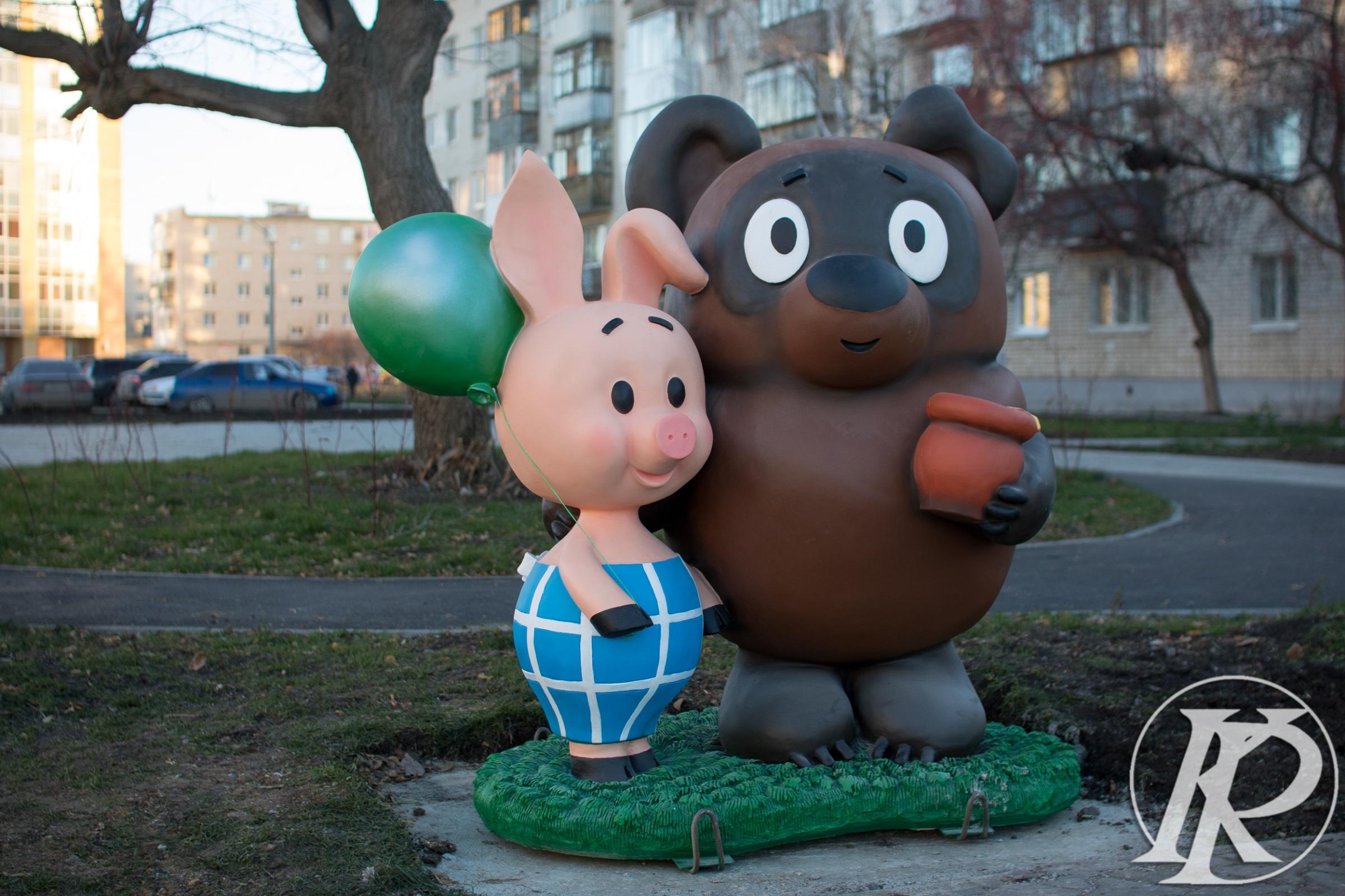 Герои Тимирязевского парка. Фото Каменского рабочего