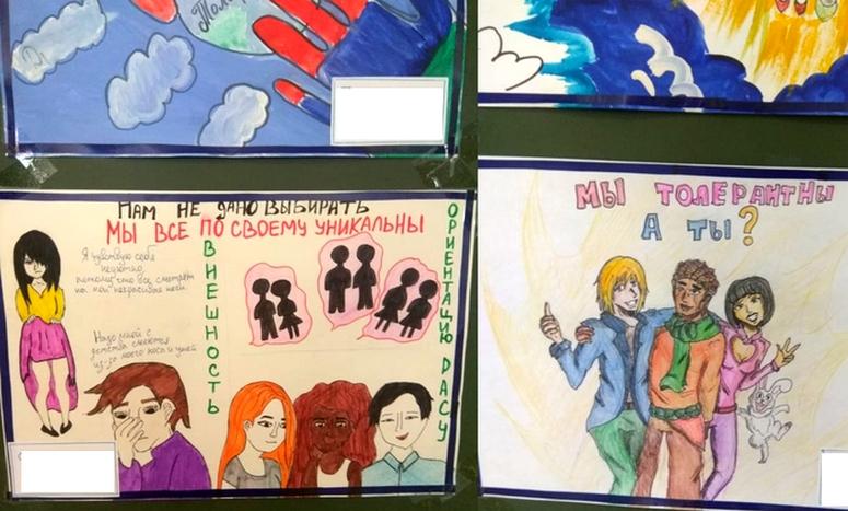 выставка в школе 115 Екатеринбурга