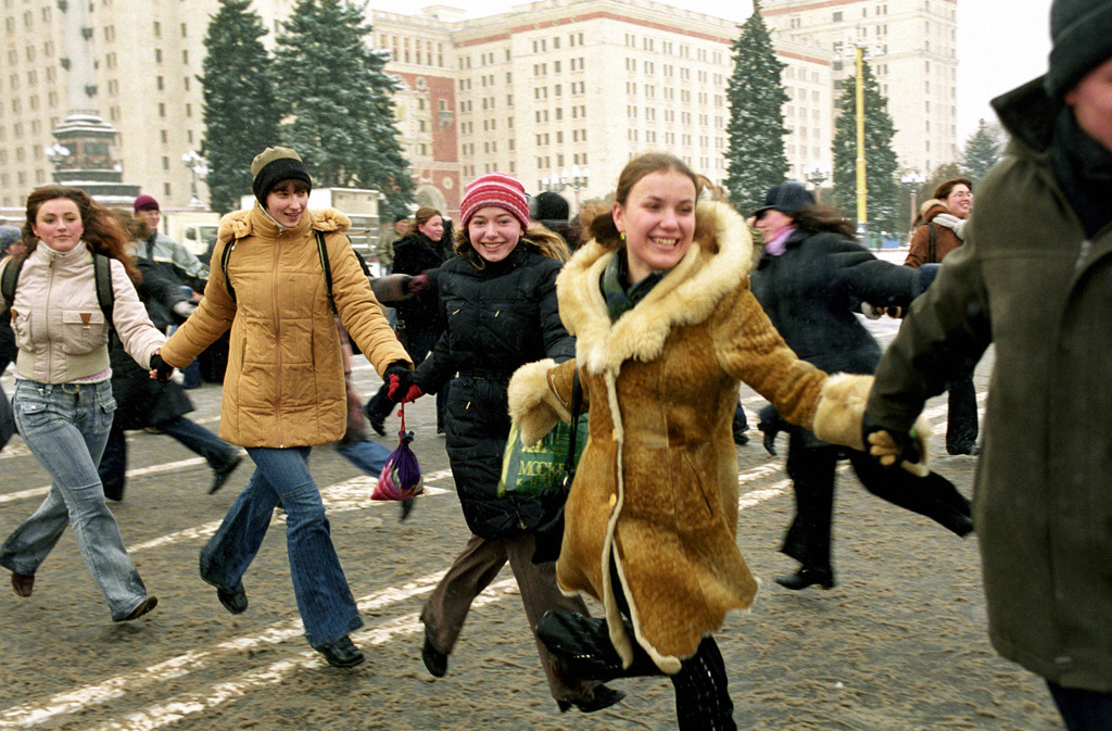 Татьянин день в России отмечают все студенты