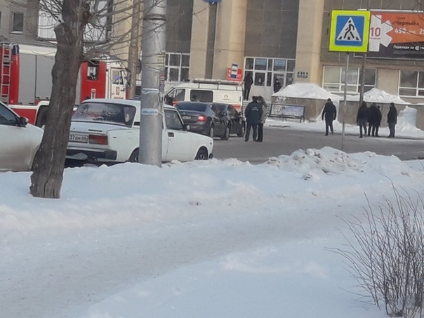 Эвакуация вокзалов в Каменске-Уральском