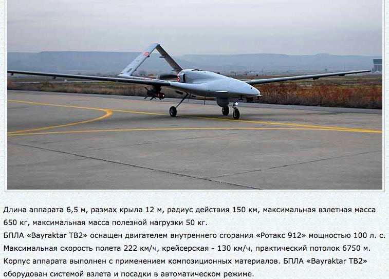 Киев и Анкара подписали контракт на поставки ВСУ беспилотников Bayraktar TB2
