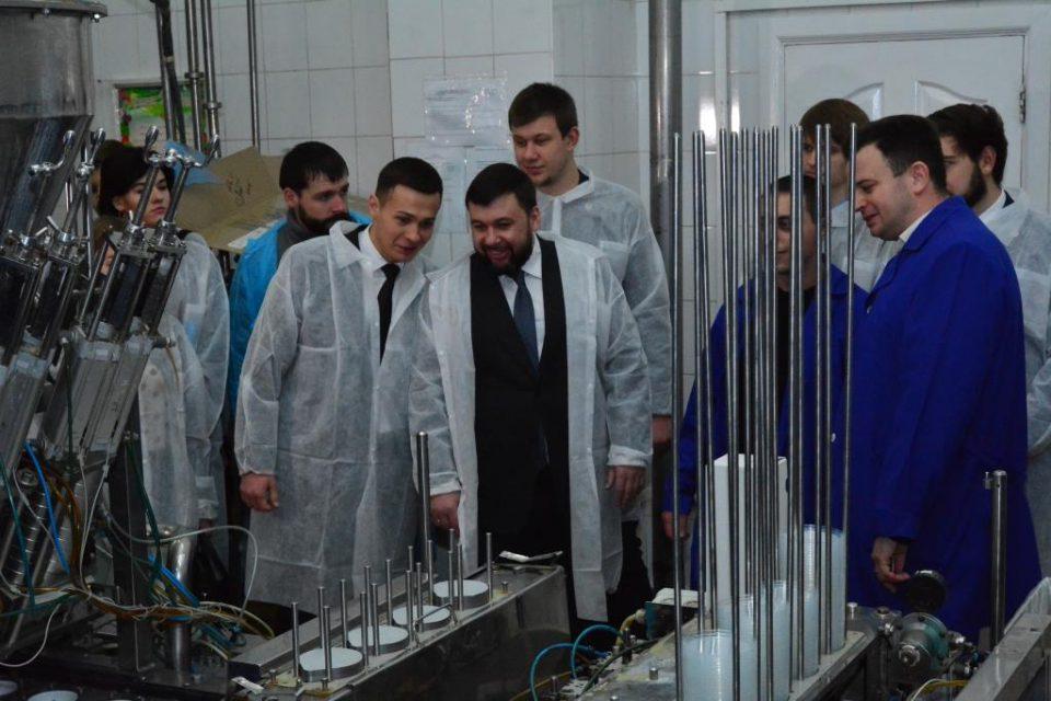 В ДНР рассматривают возможность экспорта молочной продукции в Крым